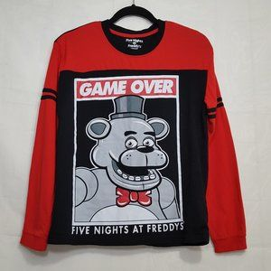 Five Nights at Freddy's kids graphic long sleeve T